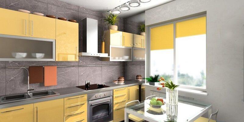 Дизайн кухни 8 кв.м